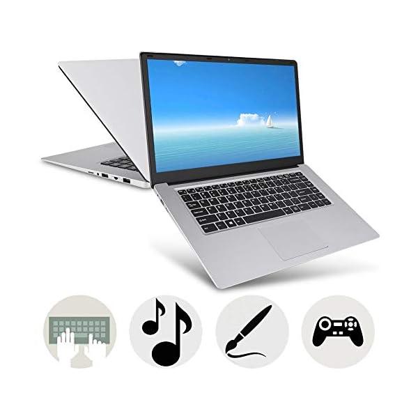 "15.6 "" Notebook - YEPO N15 15,6 pollici IPS 1920 x 1080 HD Notebook PC Laptop per Windows 10, per CPU Intel Celeron N3350, DDR3 6GB, 64GB EMMC, Supporto USB/Bluetooth 4.0/Mini HDMI/WiFi(Spina UE) 6 spesavip"