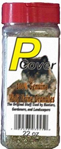 The Pee Mart - Wolf P-Cover 22 fl oz Wolf Urine - Granules Repellant