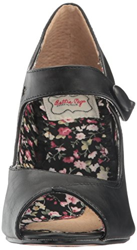 Bettie Page Femmes Bp403-shelly Spectator Pump Noir