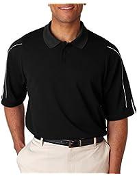 Men's ClimaLite 3 Stripes Cuff Polo Shirt, XXX-Large,...