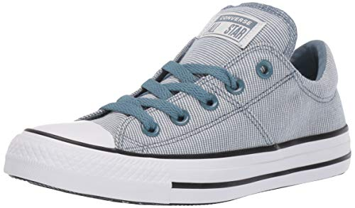 Converse Women's Chuck Taylor All Star Varsity Madison Low Top Sneaker, Celestial Teal/White/Black 8 M -