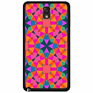 Kaleidoscope - Plastic Phone Case Back Cover Samsung Galaxy Note III 3 N9002