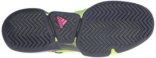 Adidas Prestaties Heren Adizero Ubersonic Tennisschoen Zwart / Semi Zonne Slijm / Shock Pink