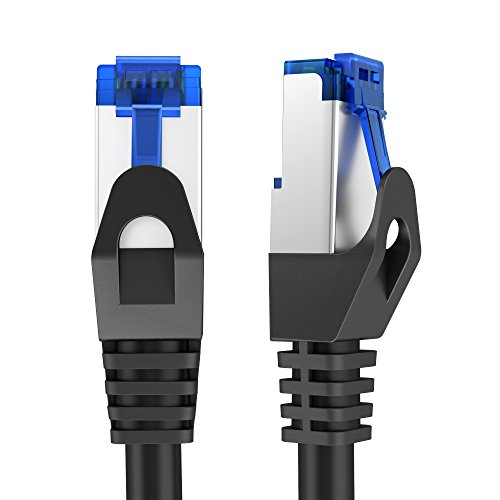 (KabelDirekt Pro Series (1 foot) Cat6 Gigabit High-Speed Ethernet Cable with Snagless RJ45 Connector - Reliable 1Gbps Internet Cord, Patch Cable with F/UTP Foil Shielding)