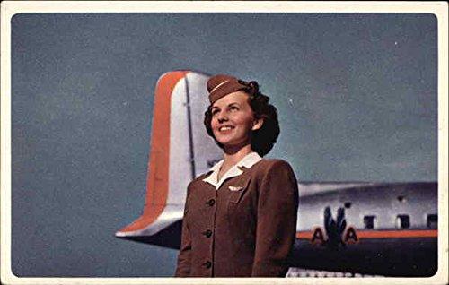 Postcard Vintage Airline - 5