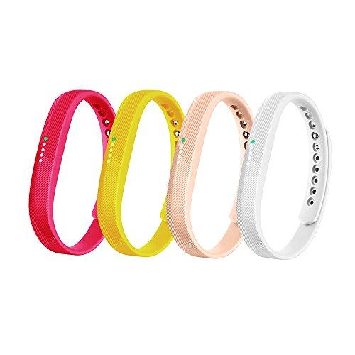 Flex 2 Accessory Bands for Fitbit Flex 2/Fit bit flex2, Adjustable Replacement Wrist Band for Fitbit Flex 2 Fitness Smart Watch Small Large Men Women (No Tracker) (B, L)