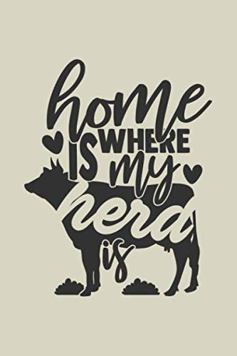 Home Is Where My Herd Is: Blank Recipe Journal to Write in for Women, Food Cookbook Design, Document all Your Special Recipes and Notes for Your Favorite ... for Women, Wife, Mom 6