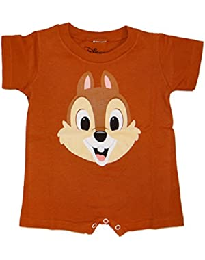 Chip And Dale Baby Onesie Romper Bodysuit