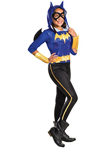 Rubie's Costume Kids DC Superhero Girls Batgirl Costume, Medium -