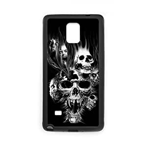 DIY Skull Phone Case Fit To Samsung Galaxy Note 4 , Good Choice For Your Phone