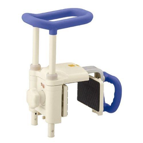 アロン化成 安寿 高さ調節付浴槽手すりUST-200N ブルー B00BVK3FTG  ブルー