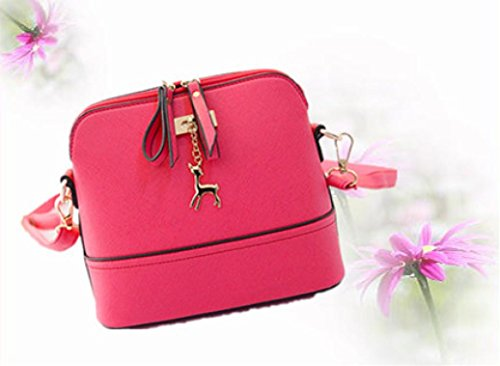 Crossbody with Tassel Deer CieKen Pink Clearance Medium with Lightweight Bag Small Pendant tg4nqCRw