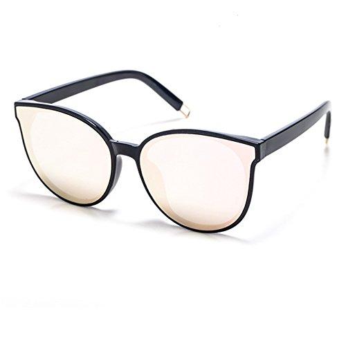 avec graduel TSGL038 de rétro Smileyes la TIME100 femme lunette la changement membrane de Rose homme série et mode couleur soleil à monture Lunettes de 2017 0gnwWUwHxf