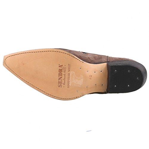 Sendra Boots - Botas de Piel para hombre Gris Grau (Grau/Braun)