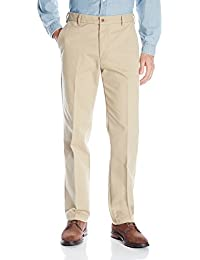 Men's Performance Stretch Straight Fit Flat Front Chino Pant