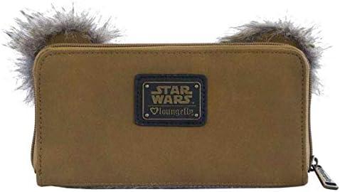 Loungefly Star Wars Ewok 3D Ears Zip Around Wallet