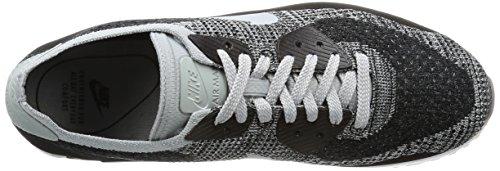 Nike Air Max 90 Ultra 2.0 Flyknit Chaussure De Course Noir Blanc Pur Platine 005