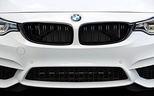 Euro Black Series - Matte Black Kidney Euro Sport Front Grill For BMW 4 Series F32 F33 F36 F82 M4 M 14-