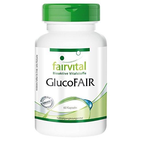 GlucoFair - Multivitamin Mineral mit Chrom - 60 Kapseln