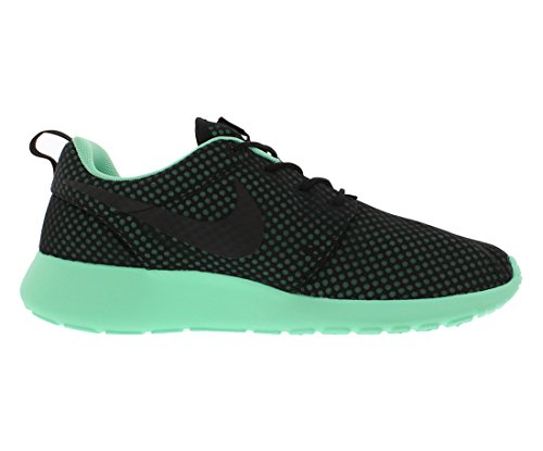 Nike Roshe One Prem Mens Scarpe Casual Taglia 9, Larghezza Regolare, Colore Nero / Verde