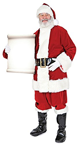 Stag's Leap Wine Cellars Star Cutouts SC15 Holding Official Lifesize Decoration Santa Father Christmas with Small Sign Perfect for Grottos and Festive Displays Including Shops Height 180cm