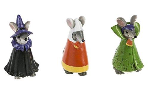 Ganz Costume Mice Figurines (Set of 3) Assorted]()