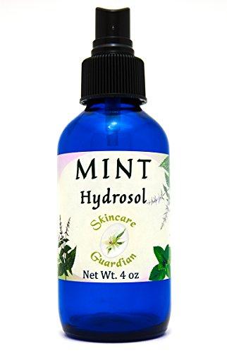 (SkinCare Guardian Mint Hydrosol - Hidrosol de mentha - Fresh Aromatic Peppermint and Spearmint Pure Mint Water Hydrolat - Facial Toner 4 oz)