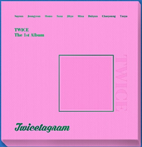 Price comparison product image TWICE - Twicetagram (Vol.1) [A Glossy ver.] CD+3 Photocard+Sticker+Pre-Order Benefit+1 Folded Poster+Extra Photocard Set