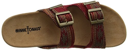 Minnetonka Gypsy - Zapatos Mujer Rot (Red / RED)