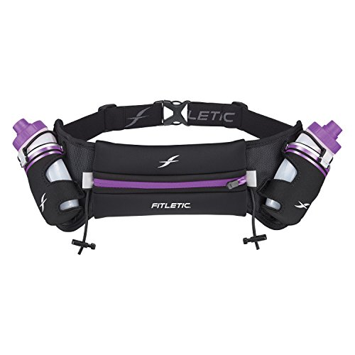 Fitletic Insulated Hydration Belt S/M Blk & Purple