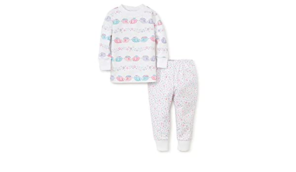 Kissy Kissy Baby-Girls Infant Eloquent Elephants Print Footie with Zipper