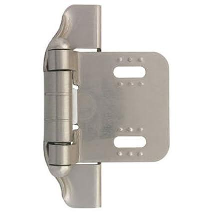 Liberty H01911L-SN-U 1/4-Inch Semi-Wrap Overlay Hinge  sc 1 st  Amazon.com & Liberty H01911L-SN-U 1/4-Inch Semi-Wrap Overlay Hinge 2-Pack ...