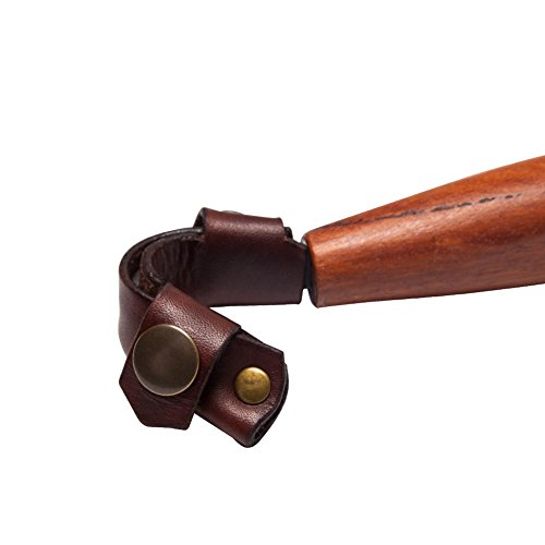 Creker Spoon Hook Knife Leather Sheath Crook Knife Case Hook Knife Cover For Mora 162 163 164 by Creker (Image #6)