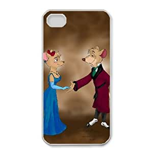 iphone4 4s White phone case Disney Cartoon Basil - The Great Mouse Detective EYB7286551