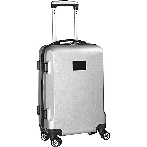 denco-sports-luggage-20-hardcase-carry-on-spinner-silver