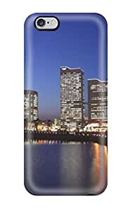 Waterdrop Snap-on Tokyo City Case For Iphone 6 Plus Sending Free Screen Protector