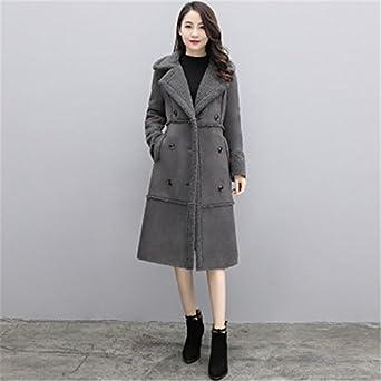 4db154654 PiterNace Warm Cozy New Winter Coat Women Loose Wool Coat Parka Lamb Suede  Coat Female