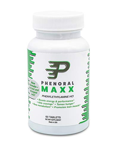 Phenoral Maxx Maximum Strength Weight Loss Diet Pill for Appetite Suppressant and Energy Boost Your Metabolism While Eating Less 60 Tablets (5 Foods That Kill Belly Fat Fast)