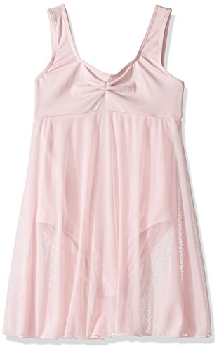 - Capezio Little Girls' Empire Dress Leotard,Pink,S (4-6)