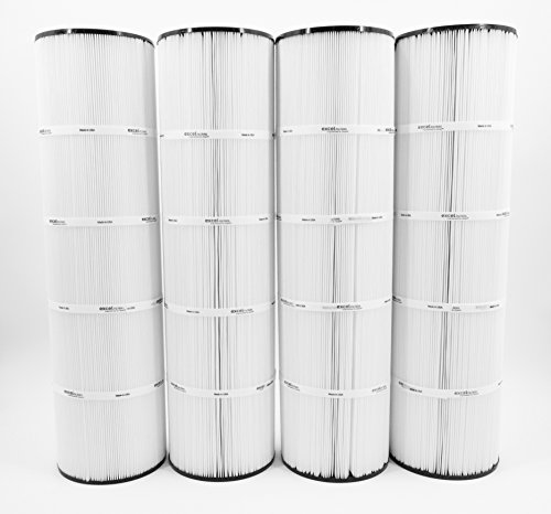 - Excel Filters 4PACK XLS-718 Pool Cartridge replaces PENTAIR CLEAN CLEAR PLUS 420, Pleatco PCC105, Unicel C-7471, FC-1977