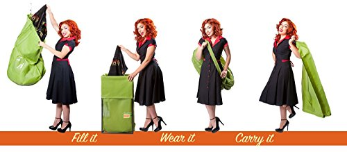 As seen on Shark Tank Green Garmento 48? Deluxe: Green Grass 1 Pack Garment Bags