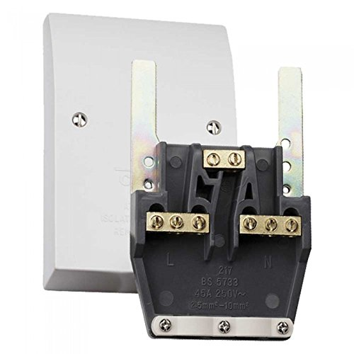 Advanced 45A Easyfit Dual Appliance Connection/Outlet Plate [IP1192] – PIKE & CO.® Branded (w/Extended Warranty)