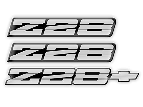 Phoenix Graphix 1991 1992 Camaro Z28 Domed Decal Emblems, used for sale  Delivered anywhere in USA