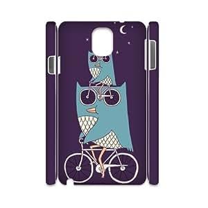 Owl Custom 3D Cover Case for Samsung Galaxy Note 3 N9000,diy phone case ygtg527917
