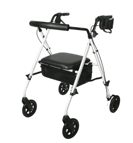 Medline Freedom Ultralight Rollator White