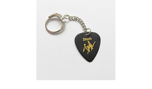 Slash de Guns N Roses Impreso firma Plectrum Púa De Guitarra ...