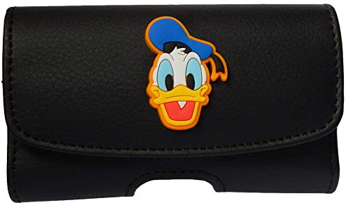 - Premium 3D Donald Duck Pouch Case with Belt Clip for Dexcom G5 Mobile CGM System (Display Device Receiver) - SNK Retail Packaging (H1BK/DD)