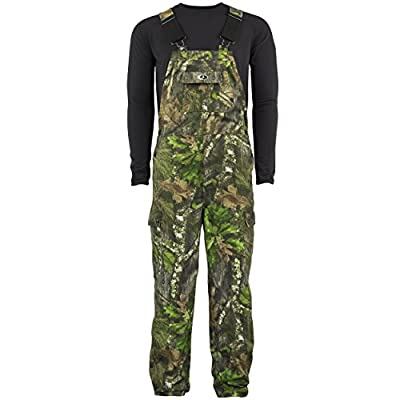 Mossy Oak Men's Cotton Mill Uninsulated Hunting Bib Overalls in Multiple Camo Patterns