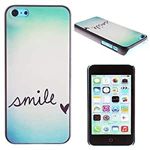 TY sold out Smile Everyday Cartoon Pattern PC Hard Case for iPhone 5C