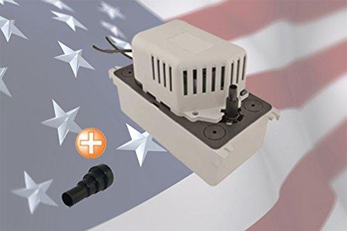 SAUERMANN SI1801SCUS23 Condensate Water Pump for A/C with 1/2 Gal/ 2 L Tank Sauermann Si-1800, 230V 50/60 Hz 132 GPH